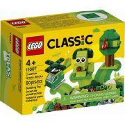 LEGO Classic - Pecas Verdes Criativos 11007