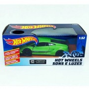 Hot Wheels - Miniatura Carro Lamborghini Gallardo LP570-4 Superleggera - C/ Luz e Som