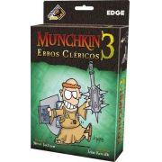 Munchkin 3 - Erros Cléricos