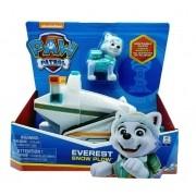 Patrulha Canina - Veículo Com Figura Básica Everest