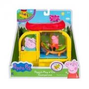 Peppa Pig - Playset Van para acampar
