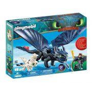 Playmobil Como Treinar seu Dragão - Soluço & Banguela 70037