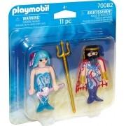 Playmobil Duo Pack - Rei do Mar e Sereia 70082