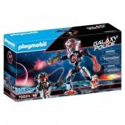 Playmobil Galaxy Police - Pirata Galáctico Robô 70024