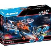 Playmobil Galaxy Police - Piratas Galácticos com Helicóptero 70023