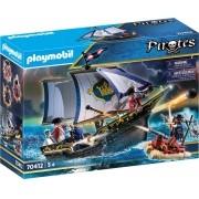 Playmobil Piratas - Caravela dos Soldados Ingleses 70412