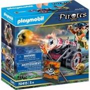 Playmobil Piratas - Pirata com Canhão 70415