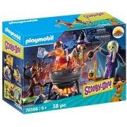 Playmobil Scooby-Doo - Aventura no Caldeirão das Bruxas 70366