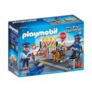 Playmobil Unidade Policial de Bloqueio com Cães 6924