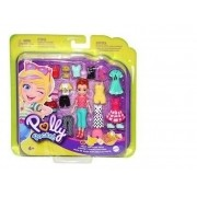 Polly Pocket - Pronta Para A Festa Lila Doce