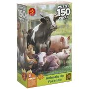 Quebra Cabeça - Animais da Fazenda 150 peças