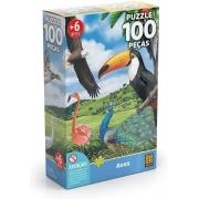 Quebra Cabeça - Aves 100 peças