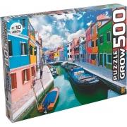 Quebra Cabeça - Canal de Burano 500 peças