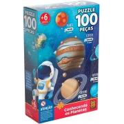 Quebra Cabeça - Conhecendo os Planetas 100 peças