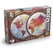 Quebra Cabeça -  Mapa Mundi 4000 peças