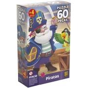 Quebra Cabeça - Piratas 60 peças