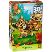 Quebra Cabeça - Tigrinho 30 peças