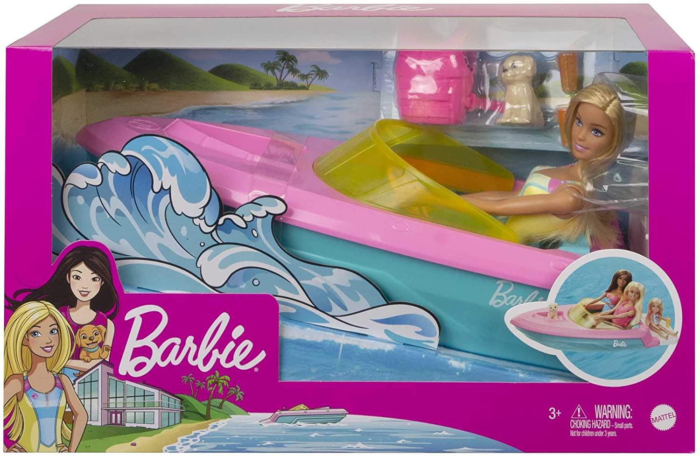 Barbie - Barco com Cachorrinho