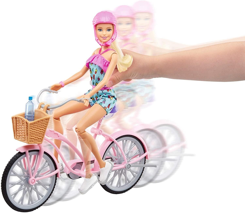 Barbie -  Boneca e Bicicleta