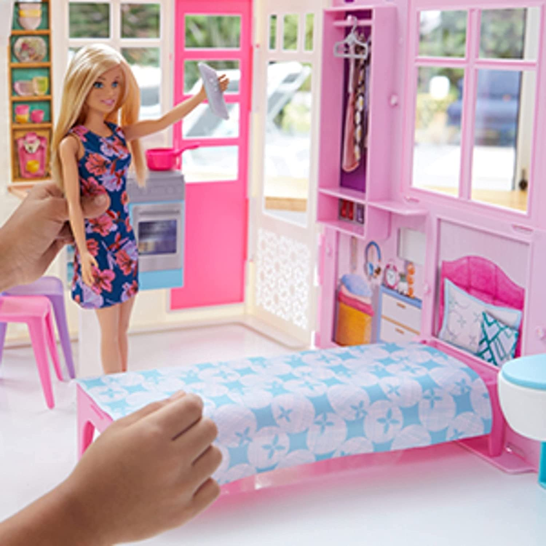 Barbie - Casa Glamour com Boneca