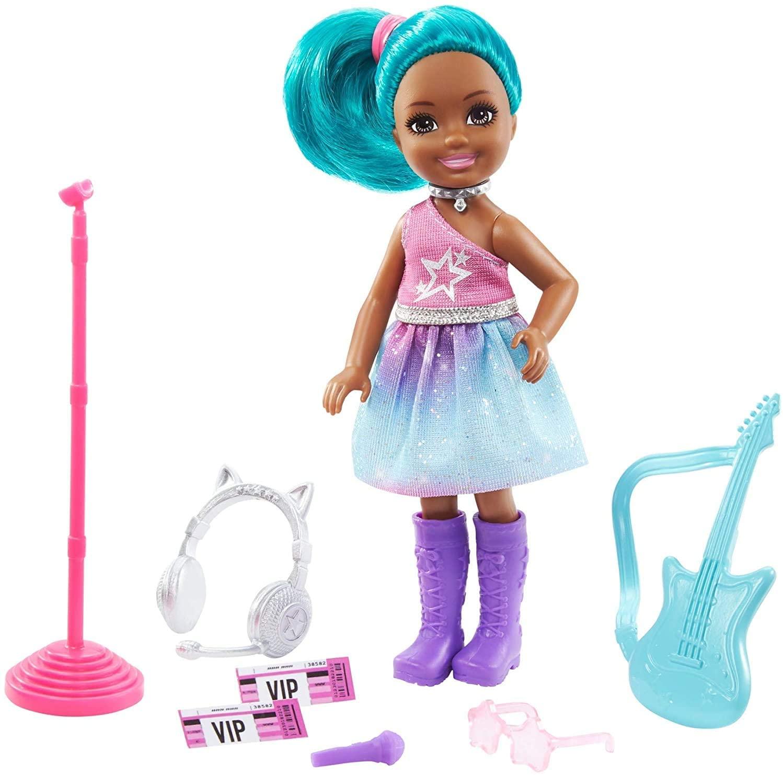 Barbie - Chelsea Profissões - Estrela do Rock