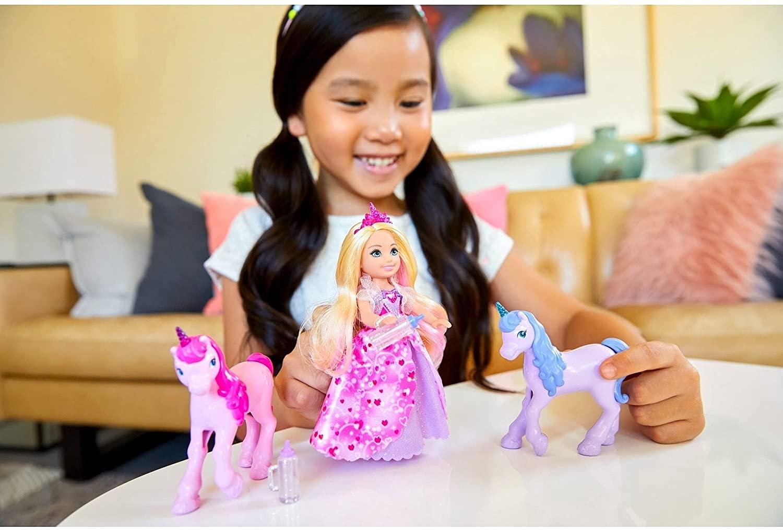 Barbie Dreamtopia - Chelsea e Unicórnios