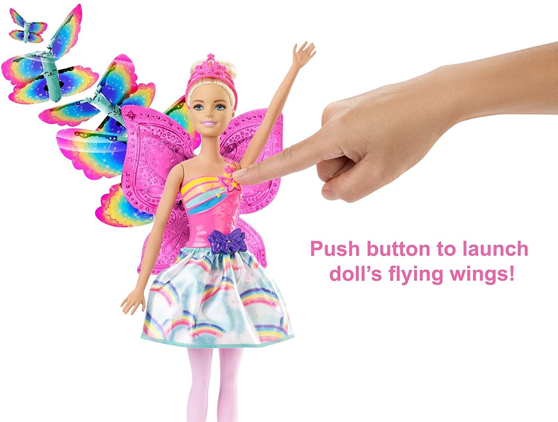 Barbie Dreamtopia - Fada Asas Voadoras