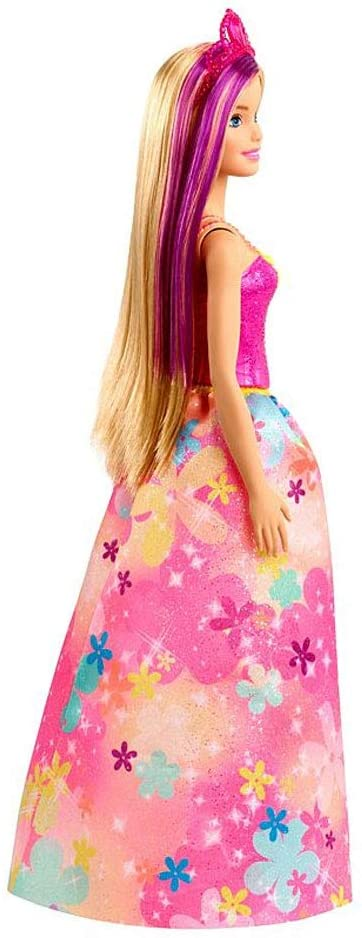 Barbie Dreamtopia - Princesa Vestido Flores