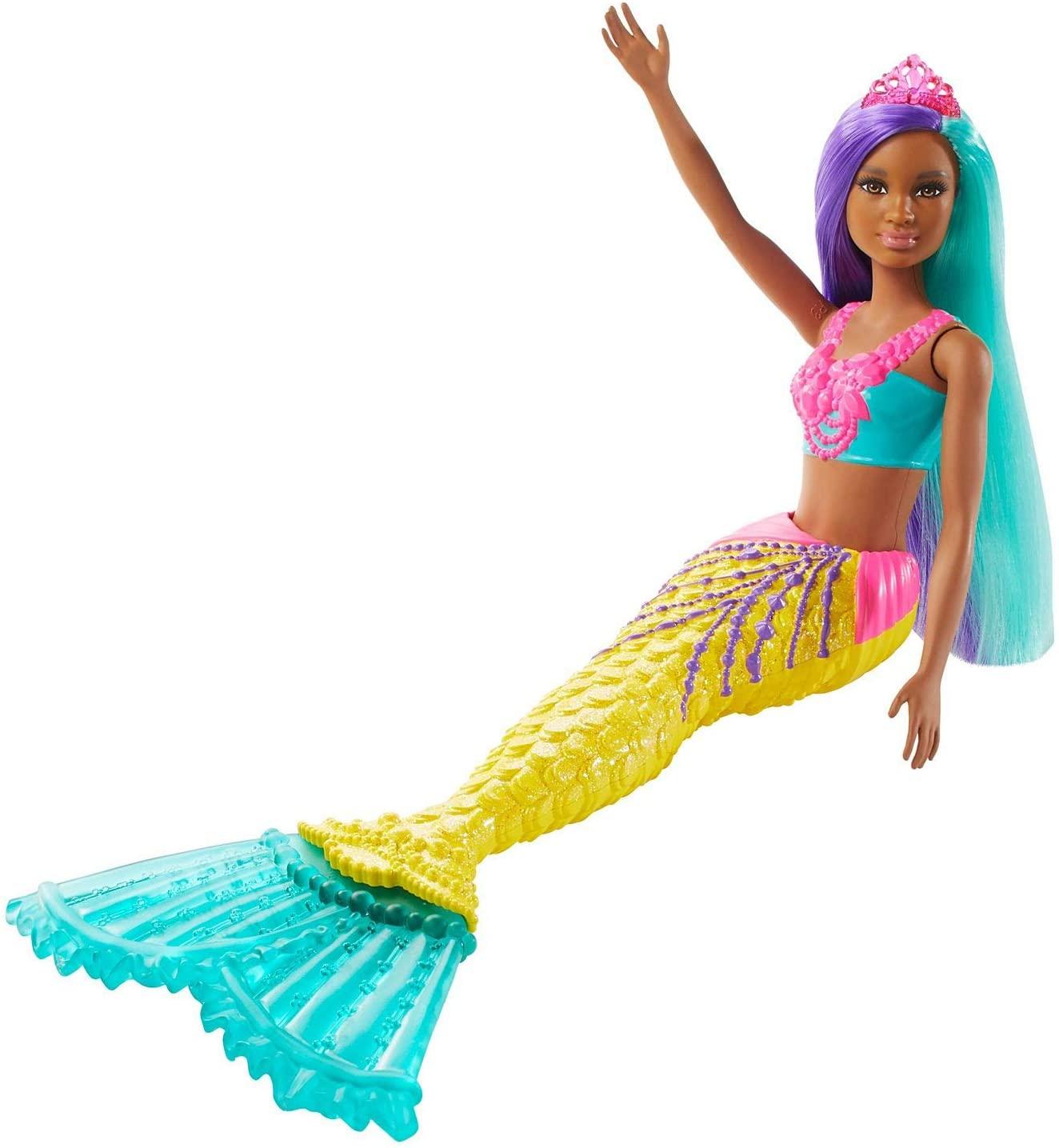 Barbie Dreamtopia - Sereia  Cauda Amarela