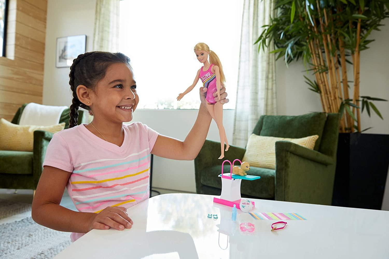 Barbie - Explorar e Descobrir - Barbie Nadadora