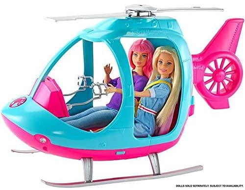 Barbie Explorar E Descobrir - Helicóptero de Viagem