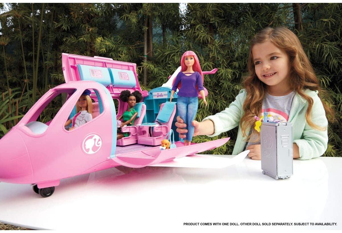 Barbie - Explorar E Descobrir Jatinho De Aventuras