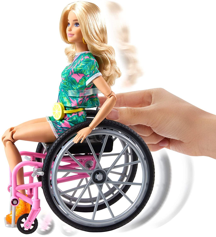Barbie Fashionista - Cadeira de Rodas Cabelos Loiros