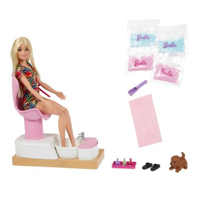 Barbie - Playset Salão de Manicure