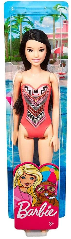 Barbie Praia - Morena Maiô Coral Tribal
