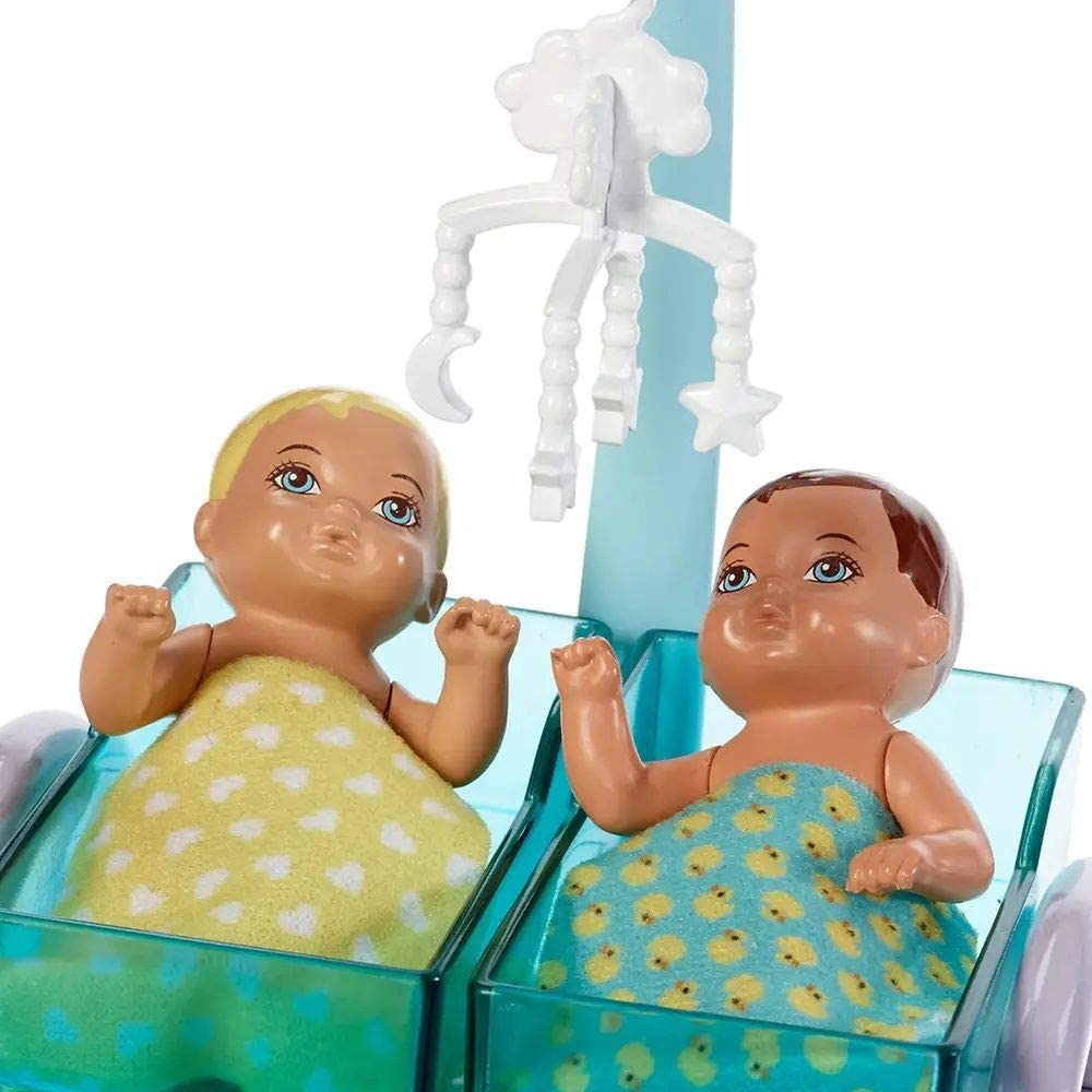 Barbie Profissões - Playset e Pediatra Loira