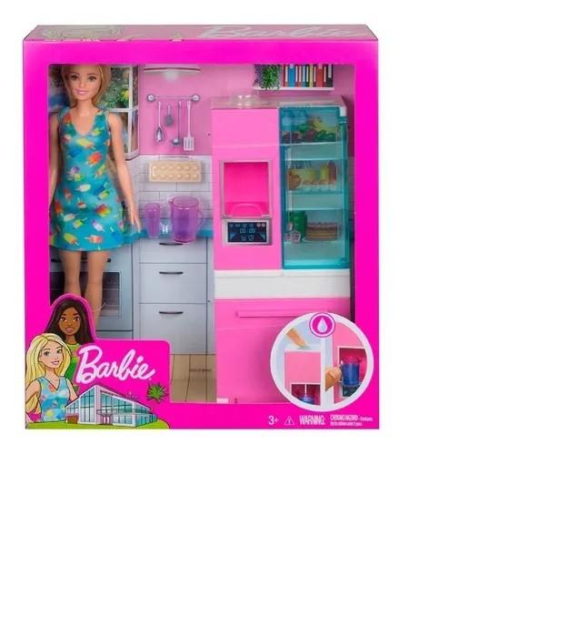 Barbie Real Móveis e Acessórios  - Cozinha DVX51