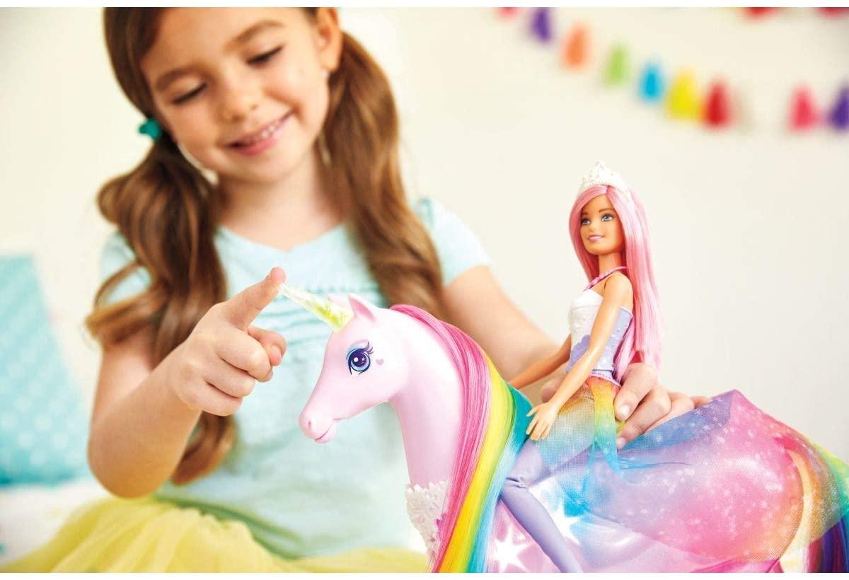 Barbie Unicórnio de Luzes Mágicas