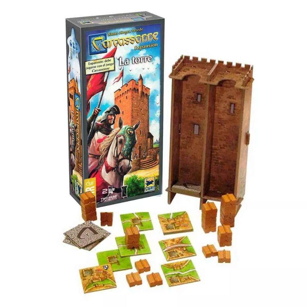 Carcassone - A Torre - Expansão