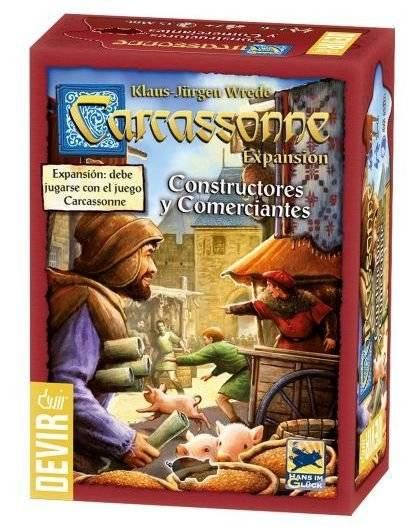 Carcassonne - Comerciantes e Construtores - 2º Edição