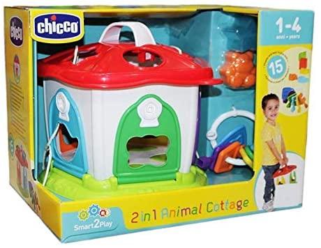 Casa dos bichos 2 em 1 - Chicco