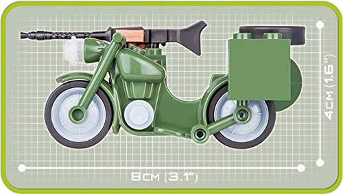 COBI 2149- Moto Militar Bmw R75 1942 com 55 pcs
