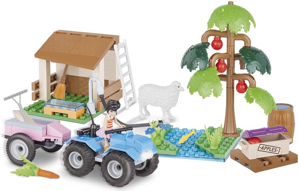 COBI Action Town - Fazenda Pomar de Maçã com 150 Peças
