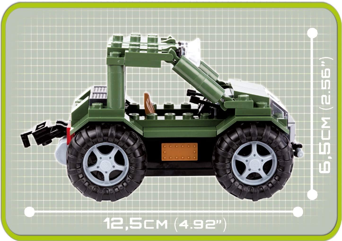 COBI - Buggy Patrulha De Fronteira Com 150 Pcs