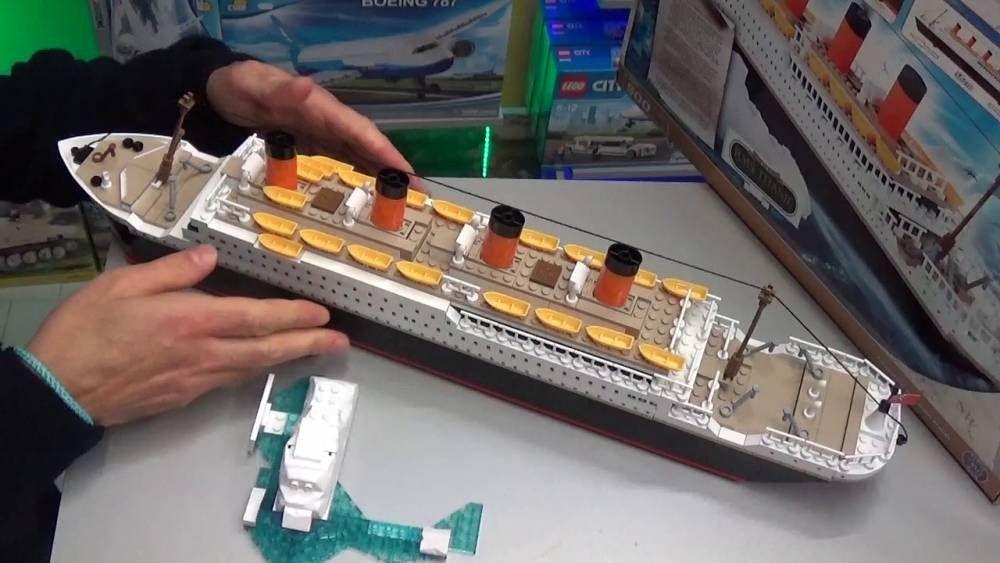 COBI Coleção Histórica - Navio Titanic