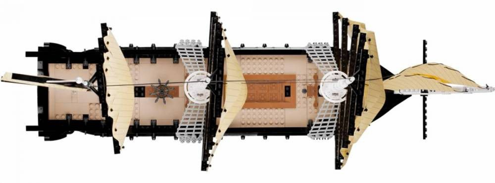 COBI Coleção Histórica - Smithsonian - USS Constitution