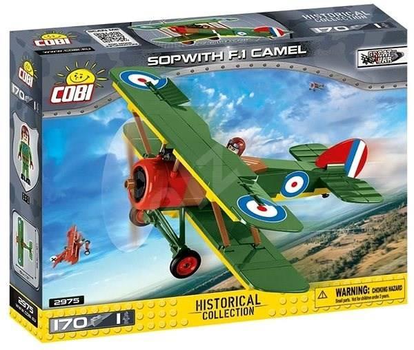 COBI Great War - Avião Britânico SopWith F.1 Camel