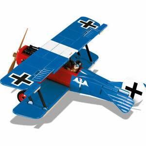 COBI Guerras - Avião de Combate Alemão Fokker D VII