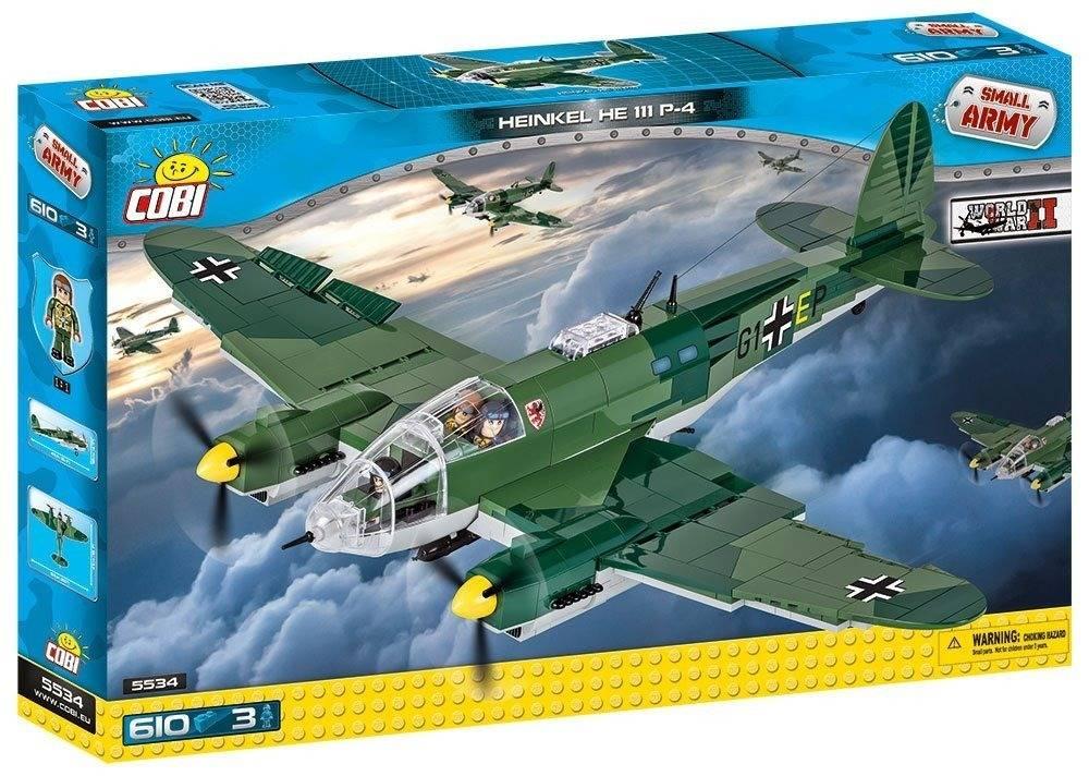 COBI Guerras - Avião Militar Heinkel HE III P-4