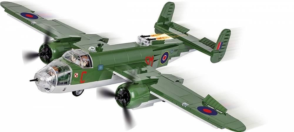COBI Guerras - Avião Militar Norte Americano B-25C Mitchell MK.II
